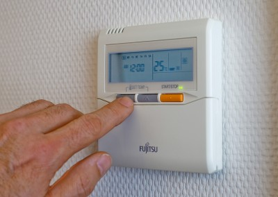 rooms with ac/heating